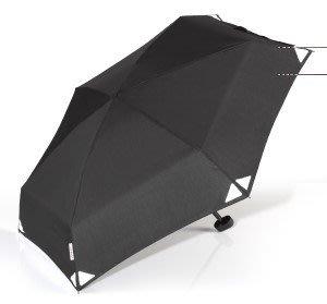 【EuroSCHIRM】黑色-反光【口袋傘】迷你傘 公司貨保固保修 DAINTY 晴雨傘 抗UV輕便 玻璃纖維