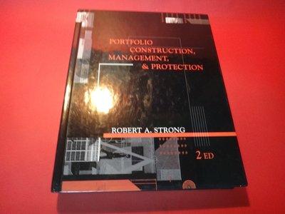 【愛悅二手書坊 23-05】Portfolio Construction, Management and -