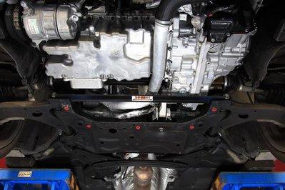 《大台北》億成汽車底盤精品改裝-SUMMIT-前下兩點結構桿 VOLVO V40