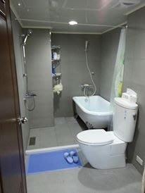 優質精品衛浴 (固定式浴缸特殊乾式工法,施打防霉膠) B1系列纯手工古典浴缸 施工完成圖1份