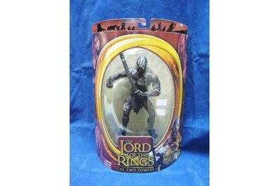 TOY BIZ 魔戒二部曲 雙城奇謀 LORD OF THE RINGS TWO TOWERS BERSERKER URUK-HAI (LOTR-81126)
