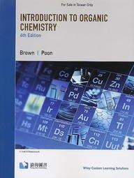 【原文】Introduction to Organic Chemistry 6e Brown 9781119923244