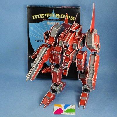 佳廷模型 親子DIY紙模型立體勞作3D立體拼圖專賣店 機器人裝甲獸 摩羯座 關節可動 麥克羅伯