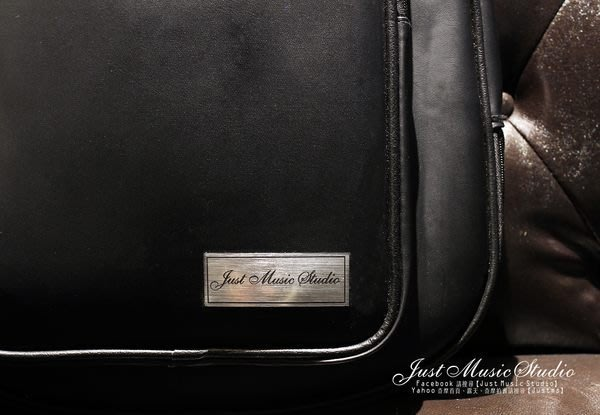 【JustMS 樂器精品】Just Music Studio 專屬   雙肩背、可提式 軟盒高級吉他袋  現貨提供!