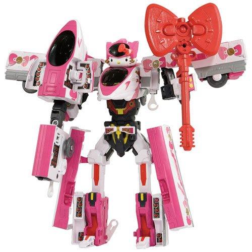 41+現貨 加粉絲免運費 TAKARA TOMY 新幹線 變形機器人 DXS Hello Kitty 小日尼三 日本代購