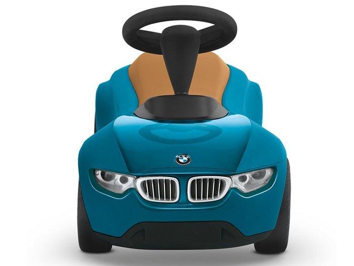 【樂駒】BMW 原廠 生活 精品 兒童 孩童 Baby Racer III 學步車 湖藍色 藍綠色 棕色 學習 復古