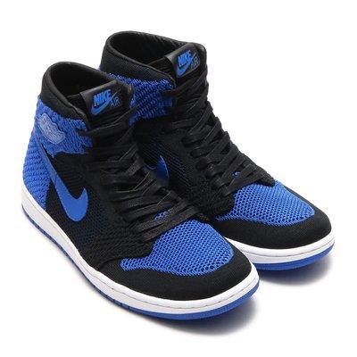 =CodE= NIKE AIR JORDAN 1 RETRO FLYKNIT 編織籃球鞋(黑藍)919702-006 女