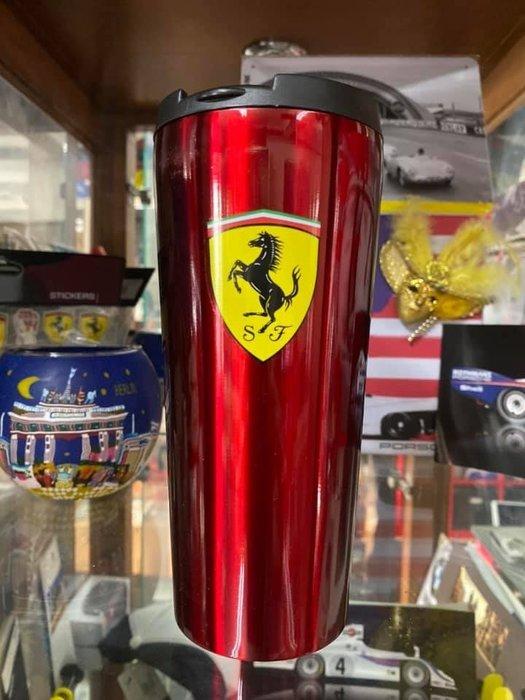 Ferrari法拉利紅色保溫杯-優惠促銷~