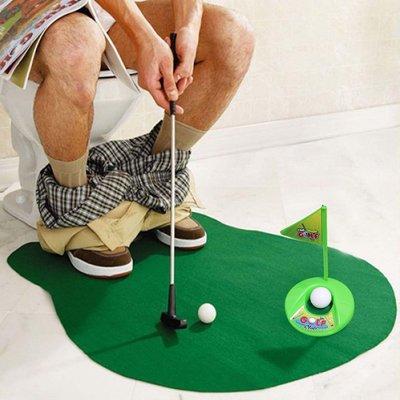 英國Temerity Jones 廁所打發時間用趣味一人高爾夫遊戲組