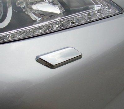 ~圓夢工廠~ Lexus ES300h ES350 2013~2016 前燈鍍鉻噴水蓋 大燈洗燈器鍍鉻噴水蓋