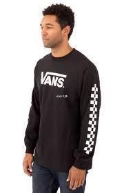 MOMO精品代購 潮牌VANS Classic Checks L/S Shirt VN0A3ZFFBLK 長TEE 現貨