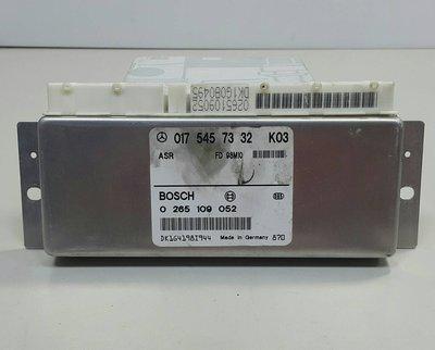 BENZ W202 1997-1999 ABS電腦 ASR電腦 (無ESP配備.日本外匯拆車品) 0175457332