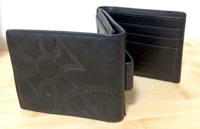 [七成新良品]Vivienne Westwood黑色三折皮夾