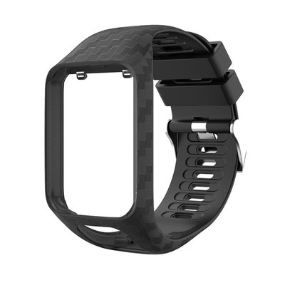 丁丁 升級版工藝更耐用易拆 TomTom 二代智慧手錶 Spark 系列 Runner 2/3代通用替換錶帶 環保材質