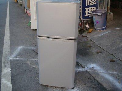 電器醫生*冷凍達人* 中古二手 東芝 120公升雙門冰箱
