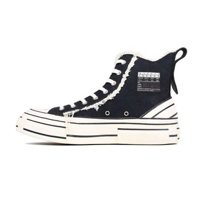 xVESSEL G.O.P. HIGHS 解構帆布鞋 高筒 新款 限量 琉化鞋 黑白 吳建豪主理