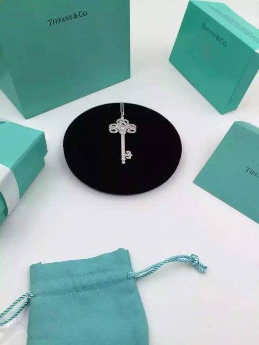 Melia 米莉亞代購 Tiffany&Co. 925純銀 Tiffany 蒂芙尼 項鍊 飾品 禮物 鳳凰鑲鑽鑰匙項鍊