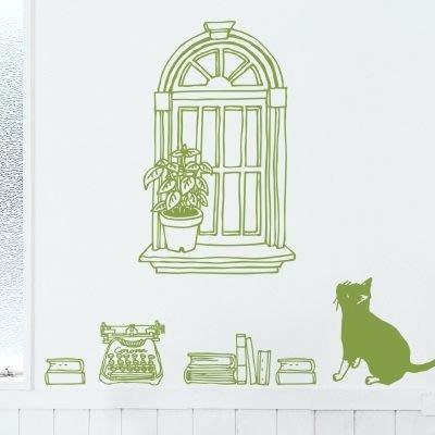 小妮子的家@幻想的一天壁貼/牆貼貼/瓷磚貼/玻璃貼/汽車貼/家具貼