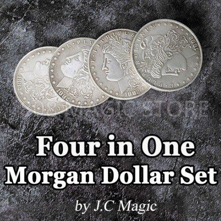 [MAGIC999] 魔術道具 高品質銅製摩根四合一套裝組
