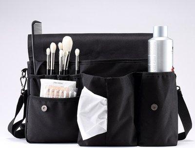【愛來客 】新款 化妝包 戶外活動 多功能帆布包 隨身化妝包 工具收納包 便攜腰包 化妝包袋(空包不含化妝工具)