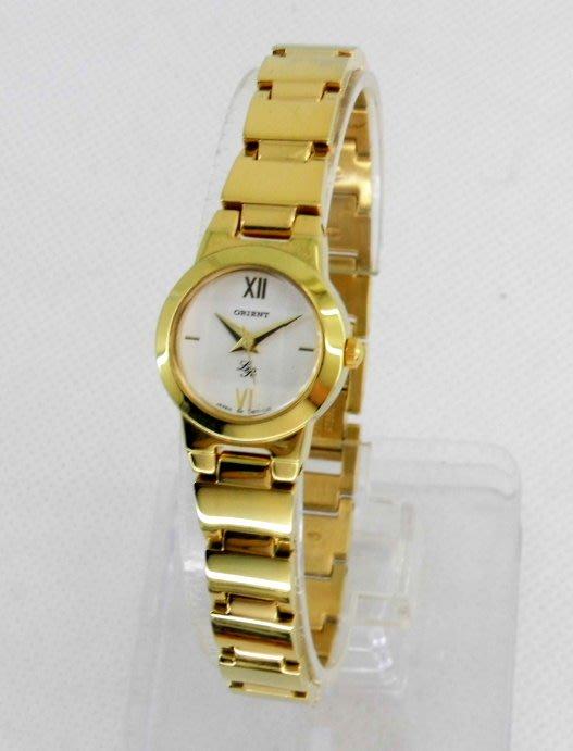 【 幸福媽咪 】網路購物、門市服務 ORIENT 東方錶 全新原廠公司貨 石英女錶 型號:CUB71GS
