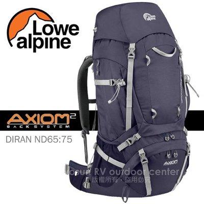 【英國 LOWE ALPINE】附雨套+送2L吸管水袋》AXIOM DIRAN 65:75 女款登山背包 FMP51AU