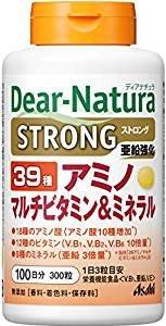 日本朝日食品 Asahi Dear Natura 綜合維他命&胺基酸&複合礦物質 100日