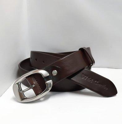 新掀貨牛仔服飾-W157-Wid Gattle真皮皮帶(100%義大利純牛皮)