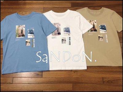 SaNDoN x『MOUSSY』五月新款 實拍復古照片印花短TEE SLY 200513