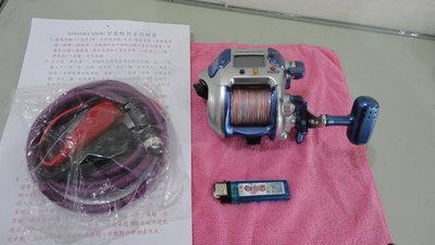 SHIMANO 高速型電動捲線器 電動丸 1000h,速度180,瞬間最大27公斤-3