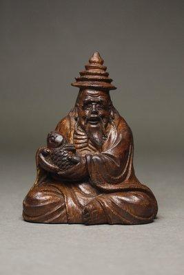 悅年堂 --- 老 竹 雕 魚翁