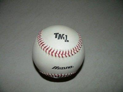 台灣大聯盟TML元年Mizuno製比賽實戰用球Game Used Ball(非實戰球衣)
