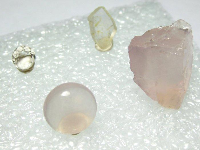 【Texture & Nobleness 低調與奢華】寶石標本&原礦 @星光玫瑰晶 拓帕石  (訂購區