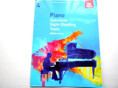 ABRSM Grade 4 Piano Specimen Sight-Reading Tests  鋼琴 琴譜