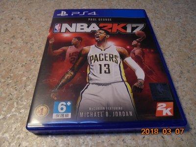 PS4 NBA2K17/NBA 2K17 中英文合版 直購價500元 桃園《蝦米小鋪》