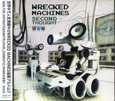 K - Wrecked Machines - SECOND THOUGHT - 日版 - NEW