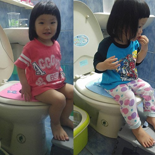 攜帶式兒童輔助便座 可折疊兒童座便器/兒童馬桶圈/坐便器/馬桶套便盆座便圈保暖墊