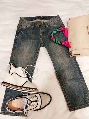 INDIVI日本專櫃牛仔褲