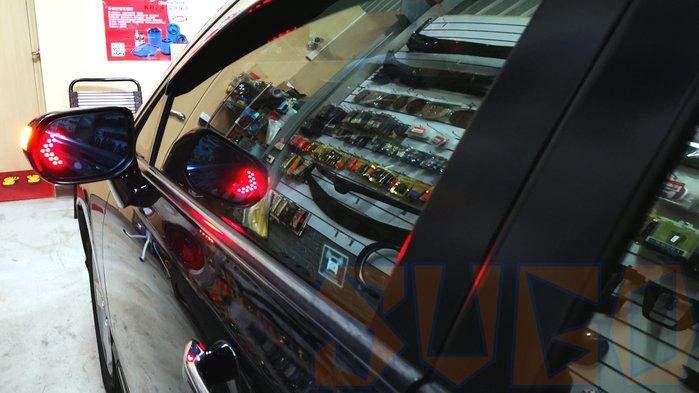 SUGO汽車精品 本田HONDA CIVIC 8/8.5代/喜美八代 專用LED方向燈 後視鏡防眩廣角藍鏡片