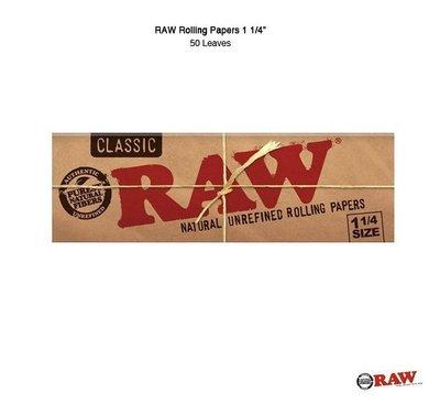 GOODFORIT /  西班牙RAW® Rolling Paper 1 1/4/煙霧瀰漫捲煙紙