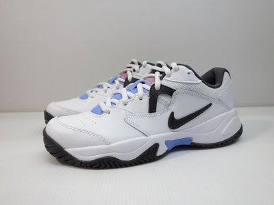 =小綿羊= NIKE WMNS COURT LITE 2 白黑 AR8838 103 女生 休閒鞋 老爹鞋 網球鞋
