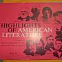 憶難忘書室☆早期發行-----HIGHLIGHTS OF AMERICAN LITERATURE BOOK2(原文書)共1本