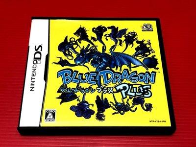 ㊣大和魂電玩㊣任天堂NDS遊戲 Blue Dragon PLUS{日版}編號:I2---2DS 3DS 主機可玩
