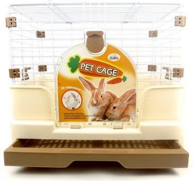 兔籠子特大號雙層兔子籠子防噴尿寵物荷蘭豬豚鼠龍貓籠用品別墅