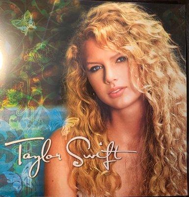 (全新未拆封)Taylor Swift 泰勒絲 - 首張同名專輯 雙碟裝黑膠LP