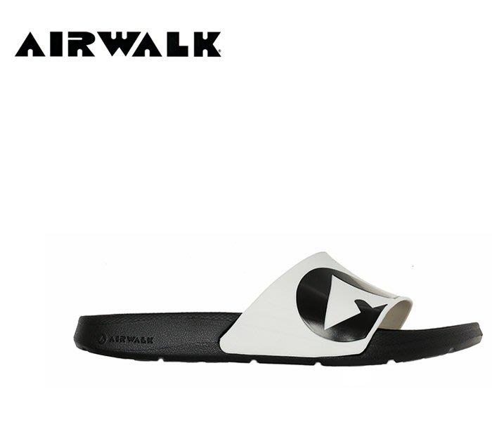 【DREAM包包館】AIRWALK EVA 拖鞋 A511220200 黑配白 男女款