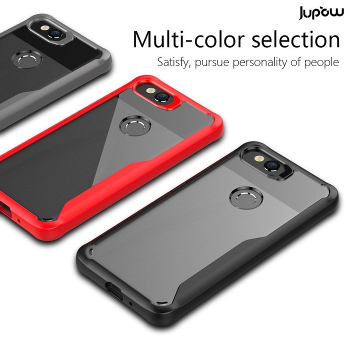 谷歌pixel2手機殼新款二合一透明防摔硬殼google pixel2xl手機套