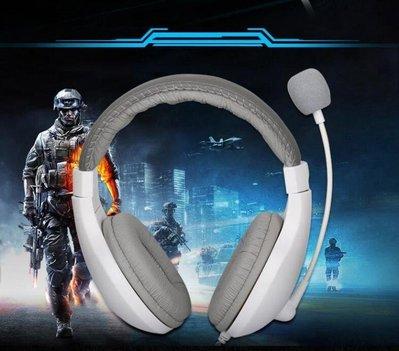 頭戴式臺式電腦耳機電競遊戲帶麥Y-優思...