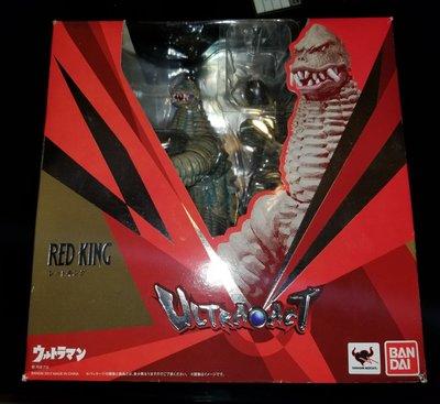 已開 日版 Bandai Ultraact Ultra act Ultraman Monster Red King Redking