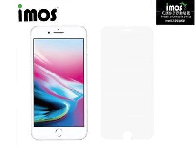 """""""imos官方授權總經銷"""" 免運 IMOS iPhone 7 Plus 8 Plus 2.5D 康寧非滿版玻璃螢幕保護貼"""